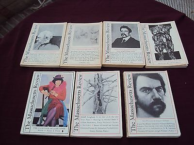 Lot of 7 Issues of the Massachusetts Review