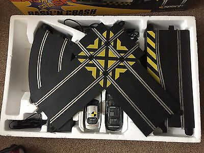 Hornby Scalextric Sport And Classic Job Lot Track, Cars, Barriers, Bridge