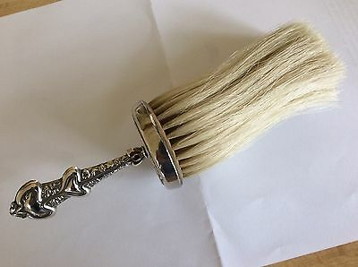 Solid Silver Brush
