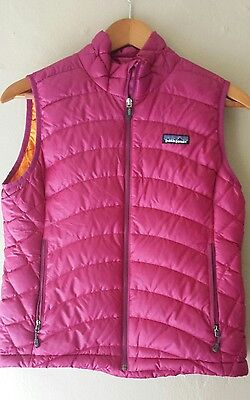 patagonia womens down vest, small