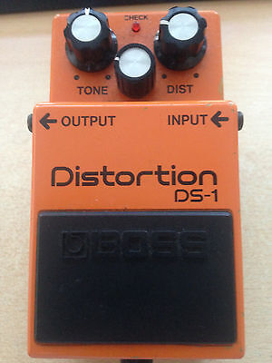 Boss DS1 distortion guitar pedal