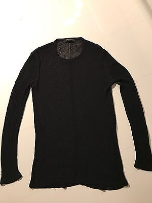 100% Authentic Damir Doma Mesh Knitwear Sweater Black