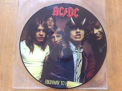 Acdc -Highway To Hell Picture Disc Lp - Mint