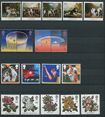 Great Britain 1991 32x Commemorative Stamps Set Mint Never Hinged - FREE UK POST