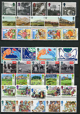 Great Britain 1994 39x Commemorative Stamps Set Mint Never Hinged - FREE UK POST