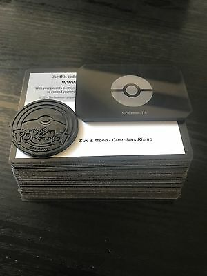 Pokemon Trading Card Game Online Codes - Guardians Rising x95