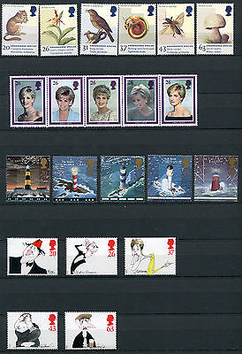 Great Britain 1998 49x Commemorative Stamps Set Mint Never Hinged - FREE UK POST