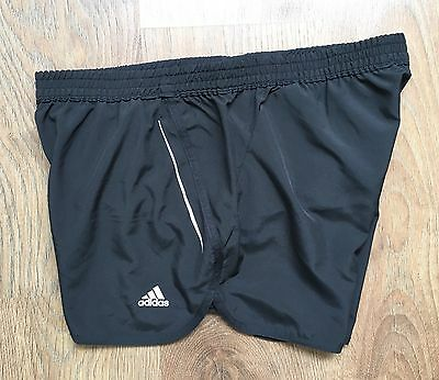 ADIDAS Sequencials ClimaLite Womens Running Fitness Shorts Black Size UK 14