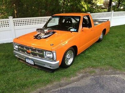 1983 Chevrolet S-10  tunning pro street blown Chevy s10  new build