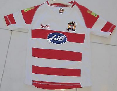 Wigan warriors rugby league shirt size SMB