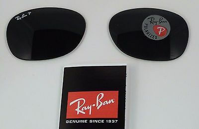 New Authentic RAYBAN Sunglass Lens Replacements Polarized RB2132 Wayfarer 55mm