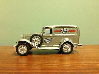 Barq's Root Beer ... Diecast  1/25 Panel Truck Bank w/ key