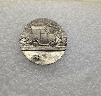 """SPECIAL PRICE! 1936 Buffalo Hobo Nickel """"Speeding With The Delivery"""" Truck"""