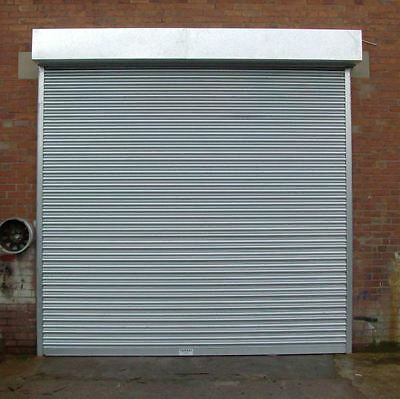 ELECTRIC 4M X 4M ROLLER SHUTTER / GARAGE DOORS - many sizes available!