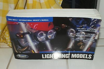 Buell International Owner's Manual - Lightning Models 2005 * BUELL AMERICAN BIKE