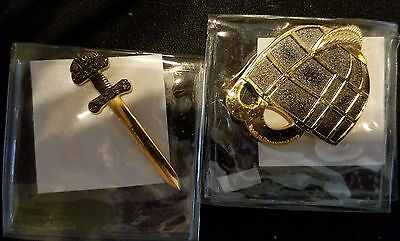 Viking Heritage Helmet & Sword - Set of 2.  VHTF Rare Unactivated and Trackable