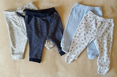 Boys Trousers x 4 Aged 3-6 months