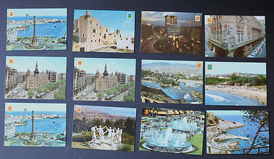 Lot of 100+ Postcards Spain & Andorra Chrome 1950s & 1960s Mostly Unposted
