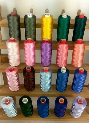 Fil a broder machine broderie 100% Rayonne embroidery thread SULKY GUNOLD