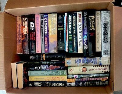 Lot Of 150+ FANTASY & SCIENCE FICTION SC & HC Books Star Wars, Star Trek, Asimov