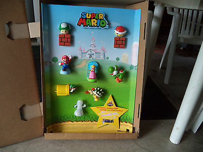Mcdonalds  Super Mario In Store Display  Toys Included