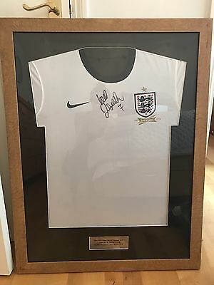 Certified Signed David Beckham England Shirt