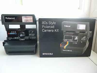 Genuine Impossible Project Polaroid 600 Instant Camera - Fully Refurbished