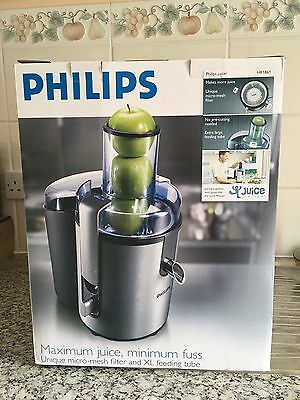 Philips Juicer Aluminium Collection HR1681 700 W In Excellent Condition