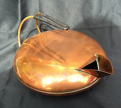 Antique Unusual / Unique Vintage Electric Copper Kettle - Art deco