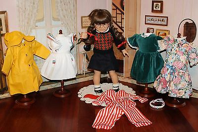Retired Pre-Mattel German-Made American Girl Doll Molly & Wardrobe! VGC!