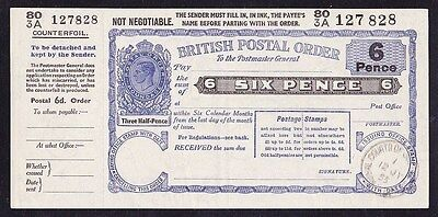 GREAT BRITAIN 1955 KGVI 6d Postal Order superb UNC !
