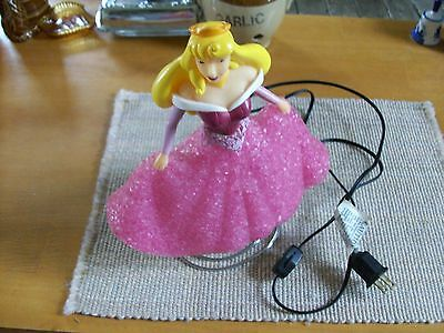 "Disney Princess Aurora 11"" Plastic Light Up Lamp Night Light"