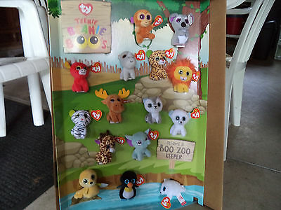 Mcdonalds 2017 Ty Teenie Beanie Boos  In Store Display  Toys Included