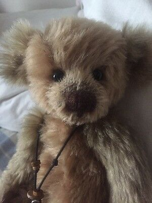 Charlie Bears Rodders Isabelle Lee Mohair Bear. Ltd Ed Of 150