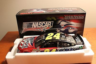Jeff Gordon #24 2013 Aarp / Nascar Salutes 1/24 Diecast, Mint In Box, ***rare***