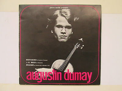Augustin Dumay - Beethoven Bach Brahms - French Press Cardin