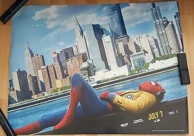 Spider-Man Homecoming 2017 Official Cinema Quad Poster