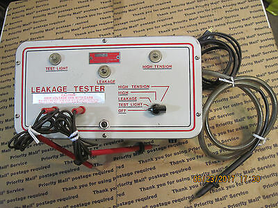 Vintage Nelson Leakage Tester Diagnostic Tool Great Condition Rare