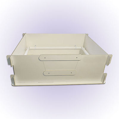 Cozy Pups washable pvc whelping box 43ins x 33ins - Flatpack puppy bed - plastic