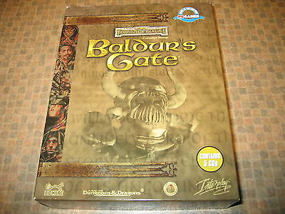 Vintage PC game - Advanced Dungeons & Dragons - Forgotten Realms: Baldur's Gate