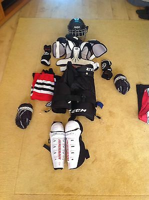 Kids Ice Hockey Equipment Junior Size