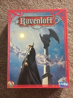 Rare Ravenloft Campaign Dungeons And Dragons 2nd Edition - Complete, Great Cond