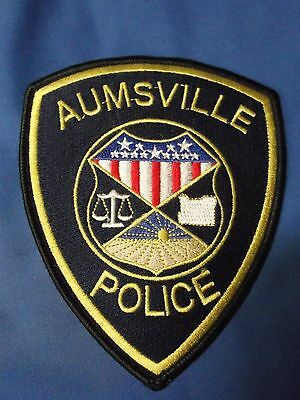"5"" Aumsville, Oregon Patch (Police Sheriff)"