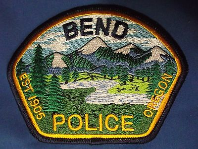 "3 1/2"" Bend, Oregon Patch (Police Sheriff)"