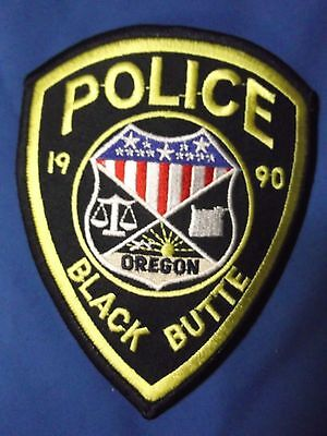 "5"" Black Butte, Oregon Patch (Police Sheriff)"