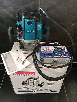 Makita RP2301FCX 110v 1/2in Variable Speed Plunge Router complete with new box
