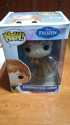 New! Funko Style Doll Coronation Anna Frozen  Disney Muñeco New! Estilo Funko