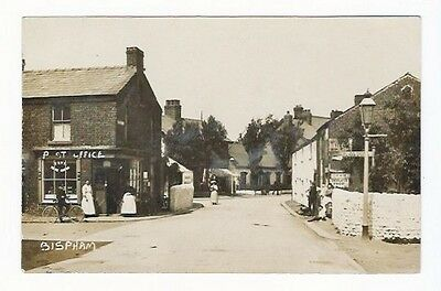 Bispham Village Post Office Church Rd Red Bank Rd Blackpool Real Photo Postcard