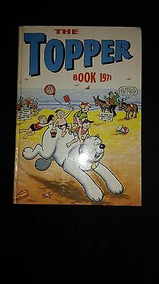 Topper Annual 1971 Vintage U.K Comic Hardback Book