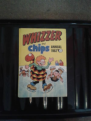 Whzzer And Chips 1982 Vintage Comic Book Annual